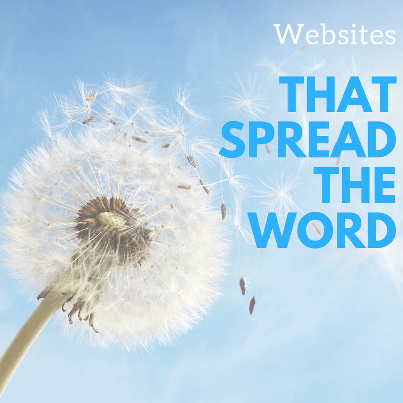 Websites that Spread the Word