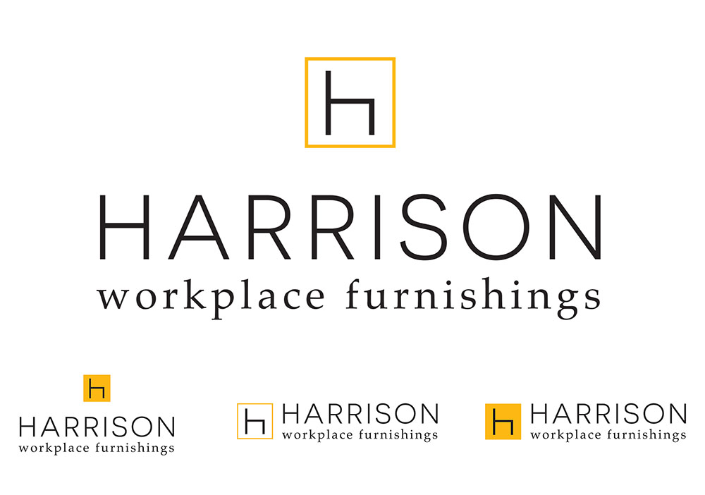 HARRISON logo variations